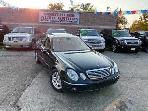 2004 Mercedes-Benz E-Class for sale at Brothers Auto Group in Youngstown OH
