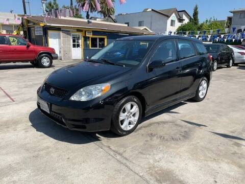 2003 Toyota Matrix for sale at FJ Auto Sales North Hollywood in North Hollywood CA