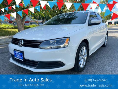 2013 Volkswagen Jetta for sale at Trade In Auto Sales in Van Nuys CA