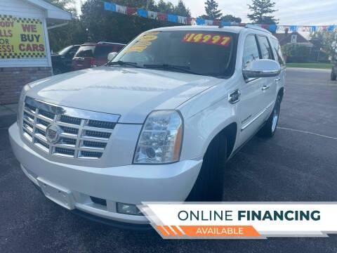 2009 Cadillac Escalade Hybrid for sale at Excel Auto Sales LLC in Kawkawlin MI