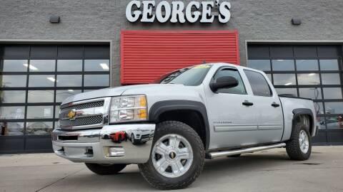 2012 Chevrolet Silverado 1500 for sale at George's Used Cars - Pennsylvania & Allen in Brownstown MI