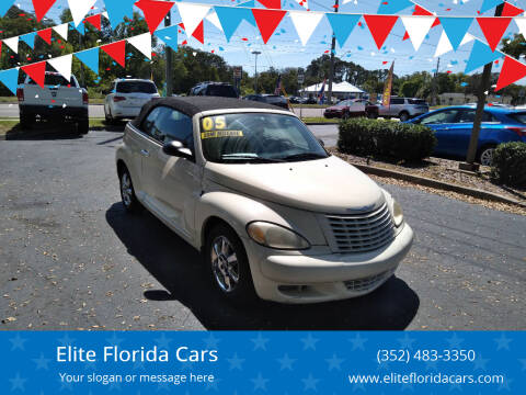 2005 Chrysler PT Cruiser for sale at Elite Florida Cars in Tavares FL