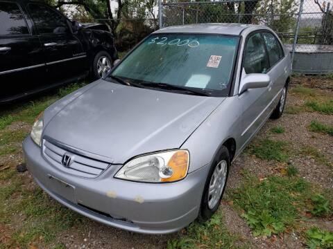 2001 Honda Civic for sale at Straightforward Auto Sales in Omaha NE