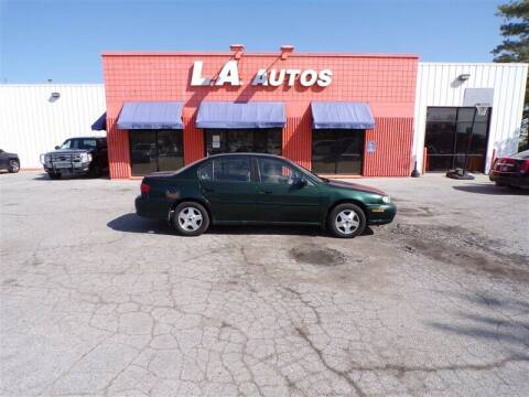 2002 Chevrolet Malibu for sale at L A AUTOS in Omaha NE