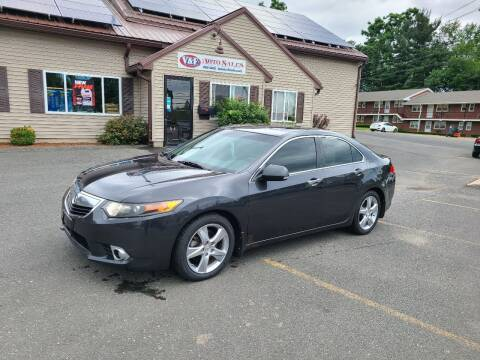 2012 Acura TSX for sale at V & F Auto Sales in Agawam MA