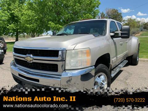 2008 Chevrolet Silverado 3500HD for sale at Nations Auto Inc. II in Denver CO