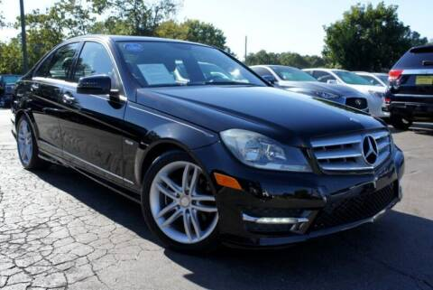 2012 Mercedes-Benz C-Class for sale at CU Carfinders in Norcross GA