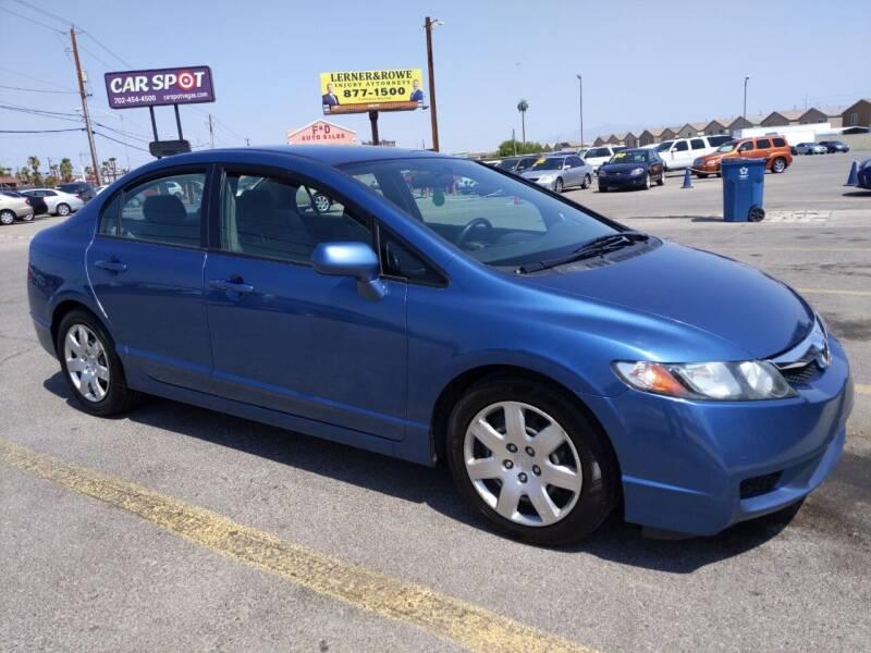2011 Honda Civic for sale at Car Spot in Las Vegas NV