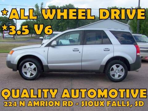 2005 Saturn Vue for sale at Quality Automotive in Sioux Falls SD