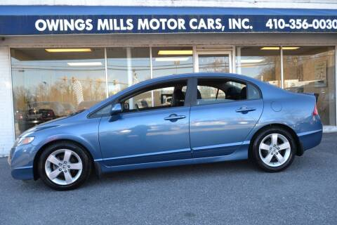 2011 Honda Civic for sale at Owings Mills Motor Cars in Owings Mills MD