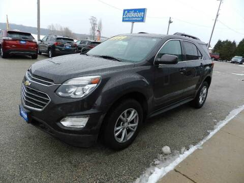 2016 Chevrolet Equinox for sale at Leitheiser Car Company in West Bend WI