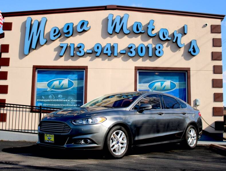 2014 Ford Fusion for sale at MEGA MOTORS in South Houston TX