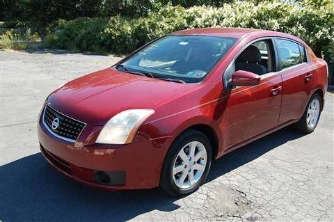 2007 Nissan Sentra for sale at CASTLE AUTO AUCTION INC. in Scranton PA