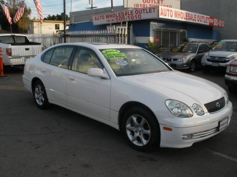 2004 Lexus GS 300 for sale at AUTO WHOLESALE OUTLET in North Hollywood CA