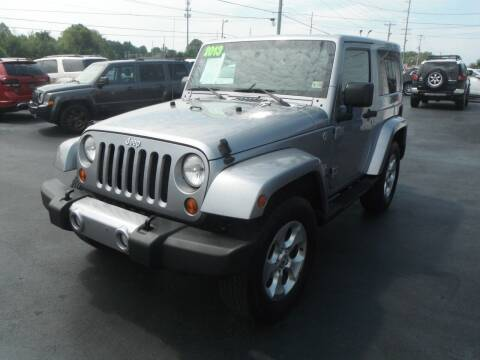 2013 Jeep Wrangler for sale at Morelock Motors INC in Maryville TN