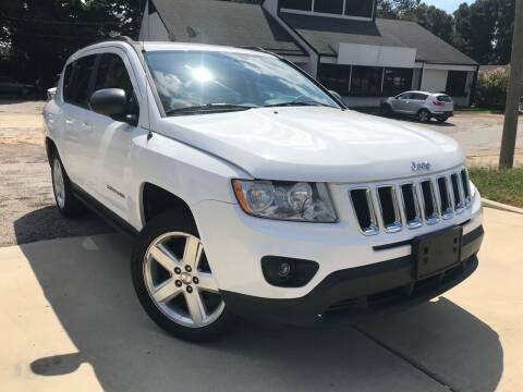 2013 Jeep Compass for sale at Alpha Car Land LLC in Snellville GA