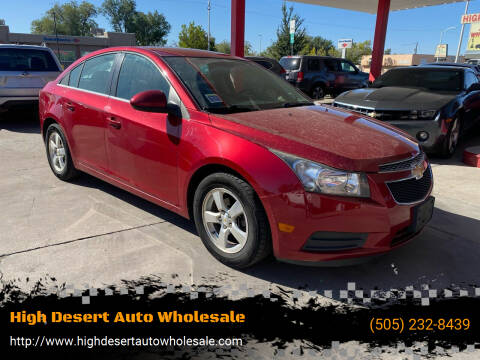 2011 Chevrolet Cruze for sale at High Desert Auto Wholesale in Albuquerque NM