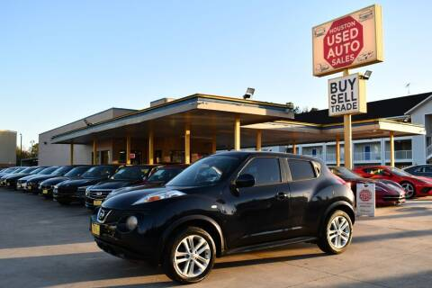 2012 Nissan JUKE for sale at Houston Used Auto Sales in Houston TX