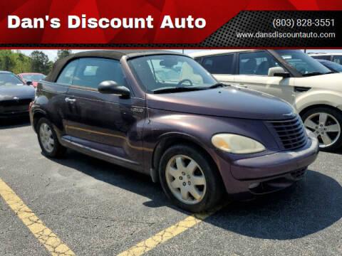 2005 Chrysler PT Cruiser for sale at Dan's Discount Auto in Gaston SC