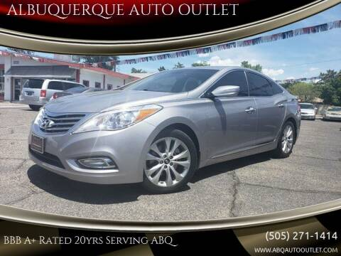 2014 Hyundai Azera for sale at ALBUQUERQUE AUTO OUTLET in Albuquerque NM
