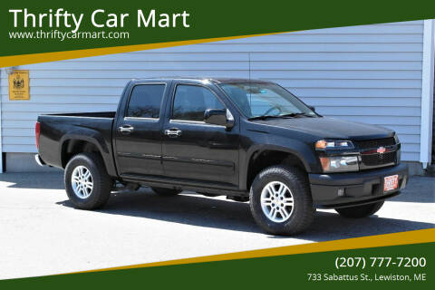 2010 Chevrolet Colorado for sale at Thrifty Car Mart in Lewiston ME