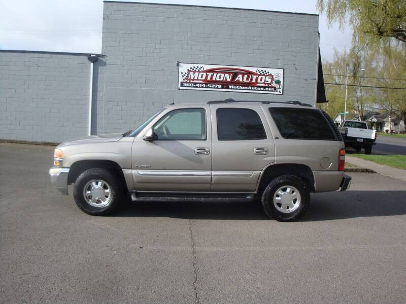 2003 GMC Yukon for sale at Motion Autos in Longview WA