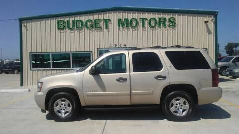 2008 Chevrolet Tahoe for sale at Budget Motors in Aransas Pass TX