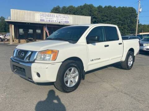 2011 Nissan Titan for sale at Greenbrier Auto Sales in Greenbrier AR