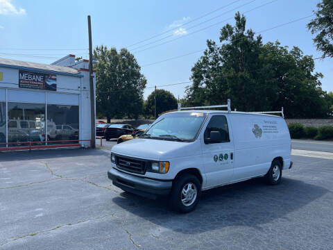 2003 Ford E-Series Cargo for sale at Mebane Auto Trading in Mebane NC