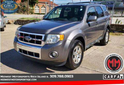 2011 Ford Escape for sale at MIDWEST MOTORSPORTS in Rock Island IL