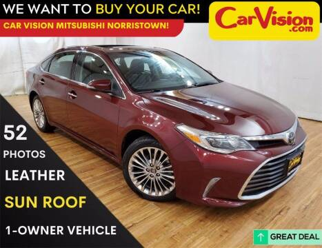 2017 Toyota Avalon for sale at Car Vision Mitsubishi Norristown in Trooper PA