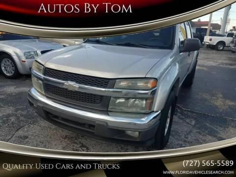 2005 Chevrolet Colorado for sale at Autos by Tom in Largo FL