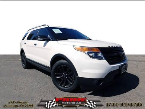 2014 Ford Explorer for sale at PRIME MOTORS LLC in Arlington VA