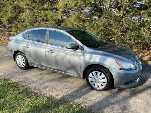 2013 Nissan Sentra for sale at Kansas Car Finder in Valley Falls KS
