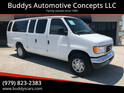 2003 Ford E-Series Wagon for sale at Buddys Automotive Concepts LLC in Bryan TX