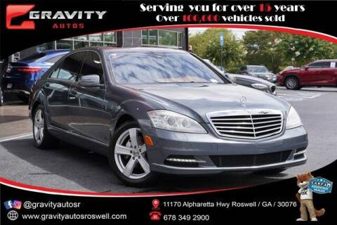 2011 Mercedes-Benz S-Class for sale at Gravity Autos Roswell in Roswell GA
