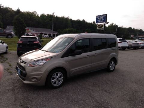 2016 Ford Transit Connect Wagon for sale at Ripley & Fletcher Pre-Owned Sales & Service in Farmington ME