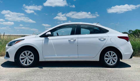 2019 Hyundai Accent for sale at Palmer Auto Sales in Rosenberg TX