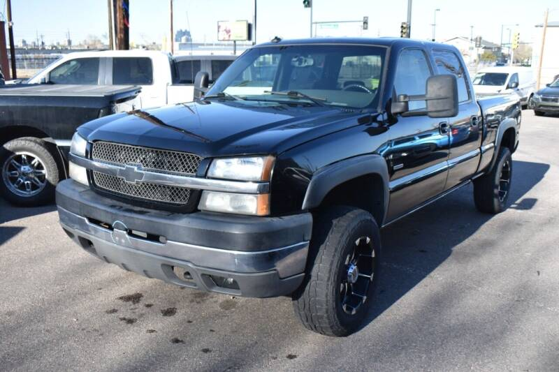 2003 Chevrolet Silverado 2500HD for sale at Good Deal Auto Sales LLC in Denver CO