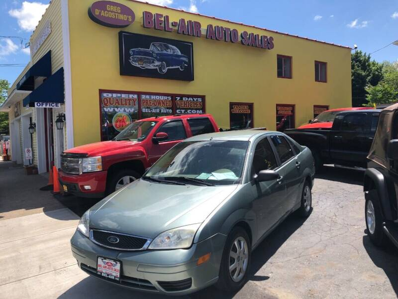 2005 Ford Focus for sale at Bel Air Auto Sales in Milford CT