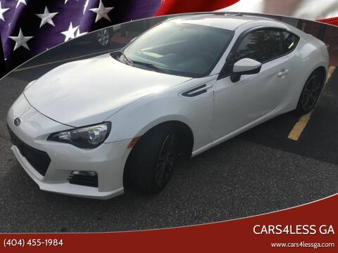 2013 Subaru BRZ for sale at Cars4Less GA in Alpharetta GA