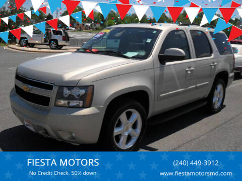2007 Chevrolet Tahoe for sale at FIESTA MOTORS in Hagerstown MD