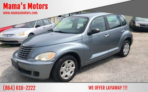 2009 Chrysler PT Cruiser for sale at Mama's Motors in Greer SC