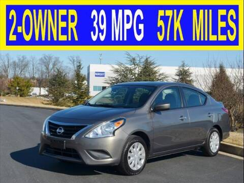 2017 Nissan Versa for sale at Elite Motors INC in Joppa MD