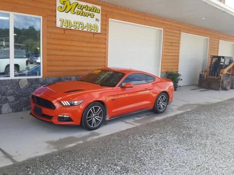 2015 Ford Mustang for sale at MARIETTA MOTORS LLC in Marietta OH