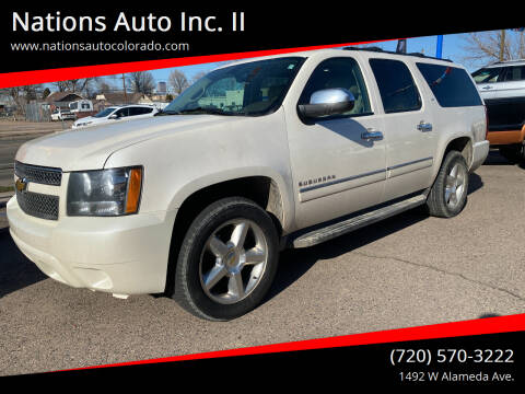 2012 Chevrolet Suburban for sale at Nations Auto Inc. II in Denver CO