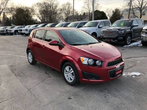 2013 Chevrolet Sonic for sale at WILLIAMS AUTO SALES in Green Bay WI