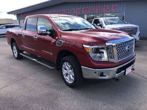 2017 Nissan Titan XD for sale at ROTMAN MOTOR CO in Maquoketa IA