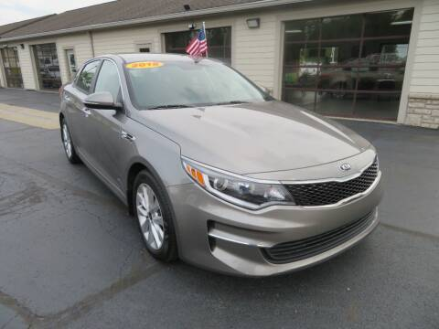 2018 Kia Optima for sale at Tri-County Pre-Owned Superstore in Reynoldsburg OH