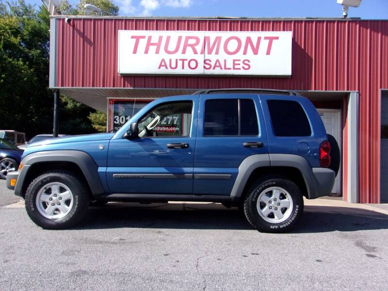 2005 Jeep Liberty for sale at THURMONT AUTO SALES in Thurmont MD